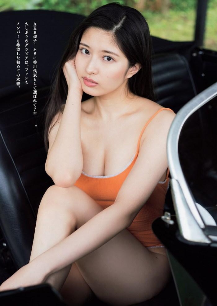 【行天優莉奈グラビア画像】21歳で既に色気があるアイドルのビキニ姿がエロい 03