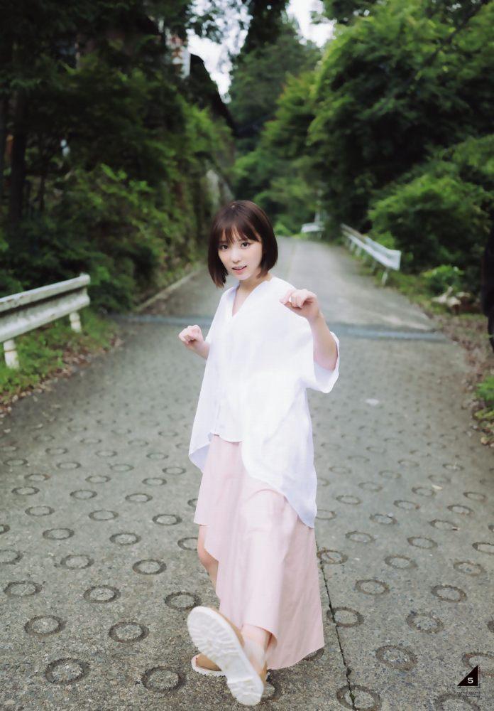 【与田祐希グラビア画像】モデルもやってる美人アイドルのビキニと下着姿 39