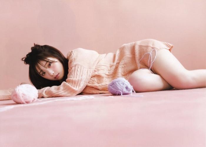 【与田祐希グラビア画像】モデルもやってる美人アイドルのビキニと下着姿 45