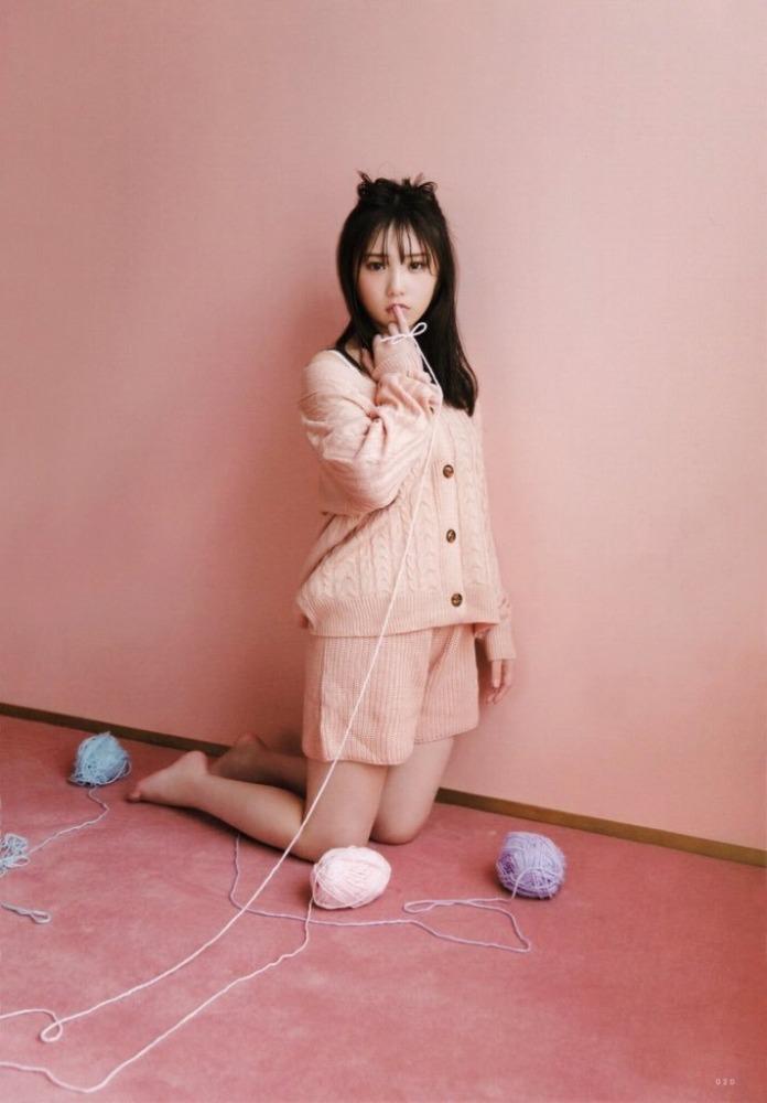 【与田祐希グラビア画像】モデルもやってる美人アイドルのビキニと下着姿 51