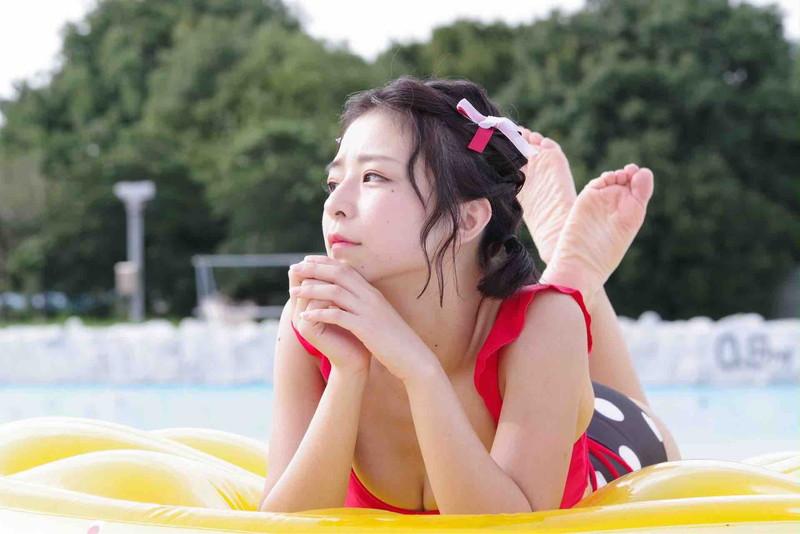 【茜紬うたエロ画像】アイドルグループのリーダーがグラドルデビュー!? 62