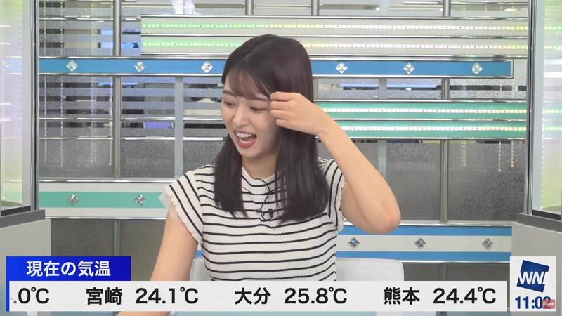 【女子アナキャプ画像】お天気お姉さんのニットおっぱい! 21