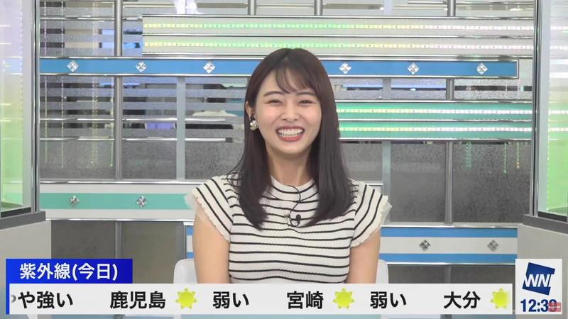 【女子アナキャプ画像】お天気お姉さんのニットおっぱい! 31