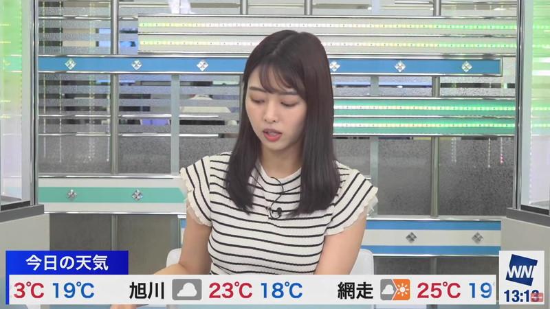 【女子アナキャプ画像】お天気お姉さんのニットおっぱい! 32