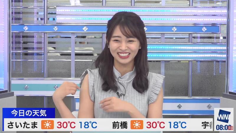 【女子アナキャプ画像】お天気お姉さんのニットおっぱい! 37