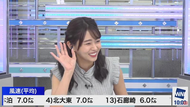 【女子アナキャプ画像】お天気お姉さんのニットおっぱい! 54