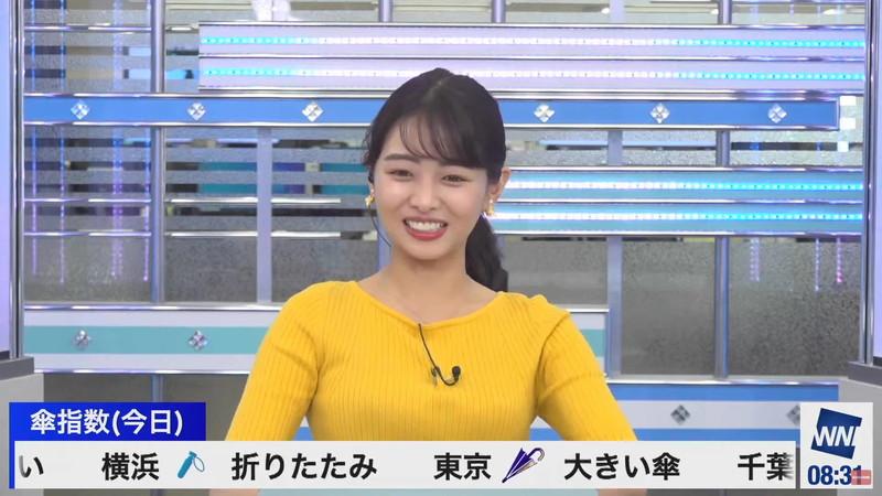 【女子アナキャプ画像】お天気お姉さんのニットおっぱい! 64