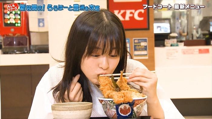 【森七菜キャプ画像】なんかこの女優って食レポばっかりしてるなw 09