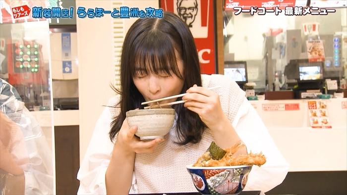 【森七菜キャプ画像】なんかこの女優って食レポばっかりしてるなw 10