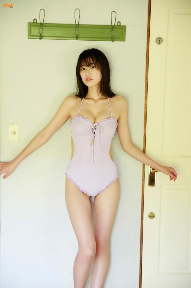 【北向珠夕グラビア画像】バレーボールで培ったスレンダー長身ボディがエロい美女! 45