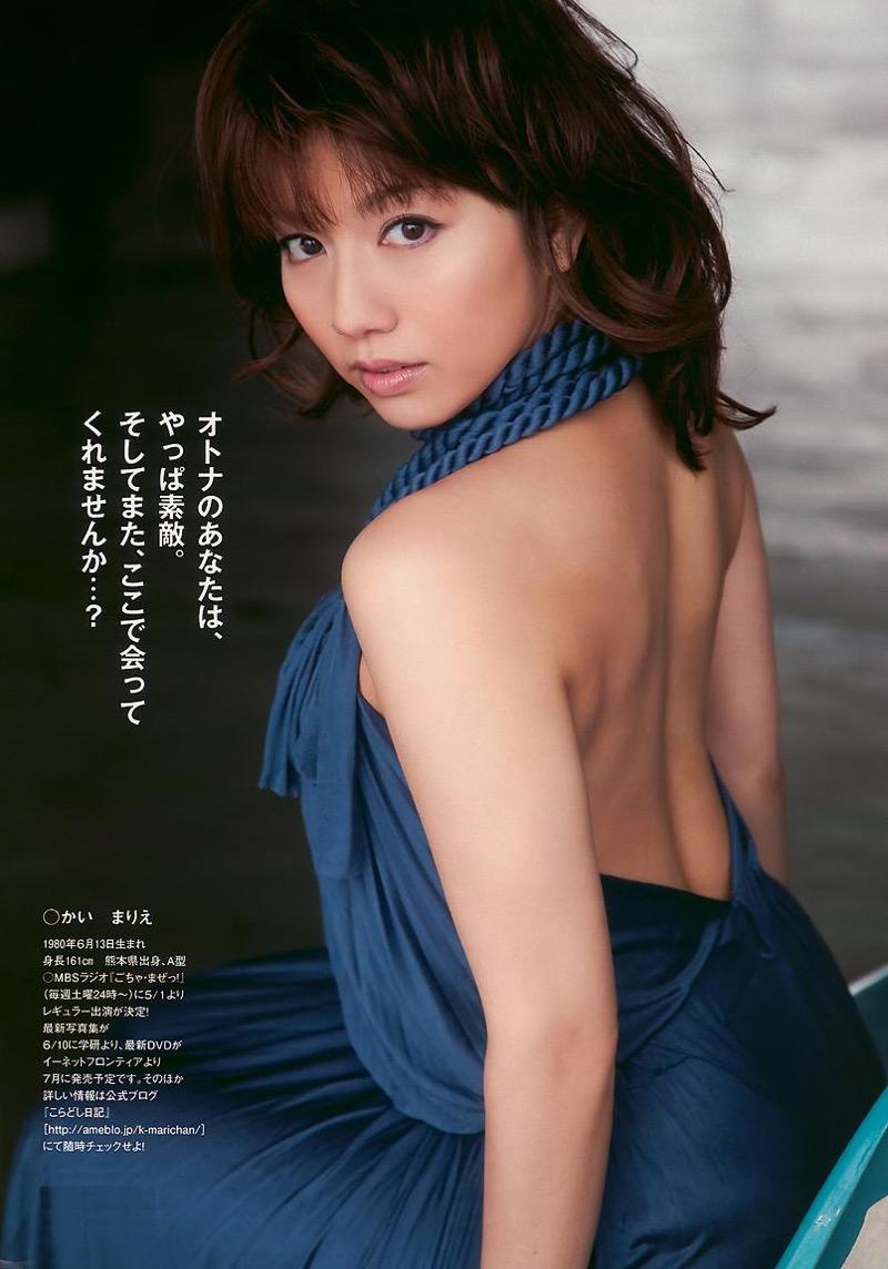 【甲斐まり恵グラビア画像】色気が滲み出ているセクシーな三十路女優のエロ画像 24