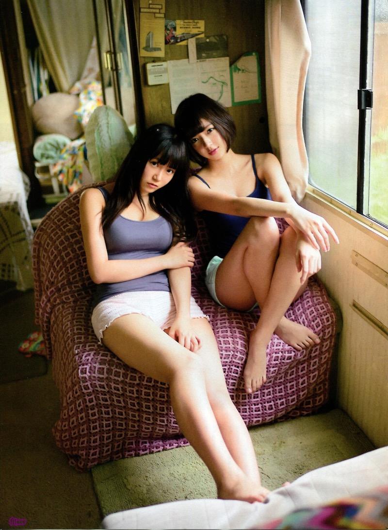 【パジャマエロ画像】パジャマ等のルームウェアでリラックスしてるタレント美少女たち 72