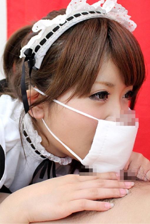 【顔出しNGエロ画像】マスクで顔を隠してチンコを咥え込むドスケベギャルのハメ撮り画像 04