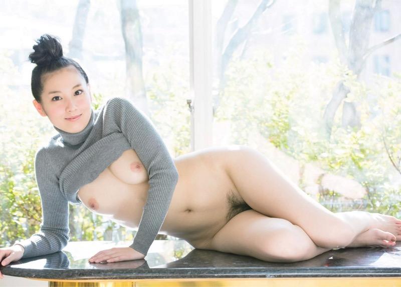 【百合沙エロ画像】木嶋ゆり時代に発表したヘアヌード写真集がエロいグラビア美女!