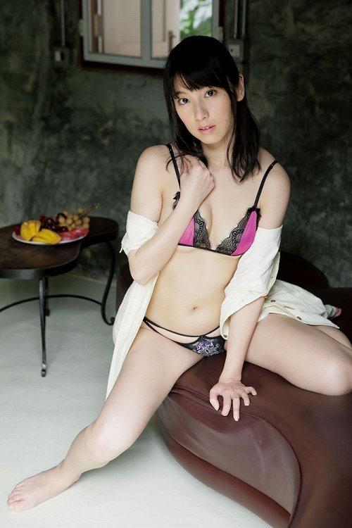 【百合沙エロ画像】木嶋ゆり時代に発表したヘアヌード写真集がエロいグラビア美女! 26