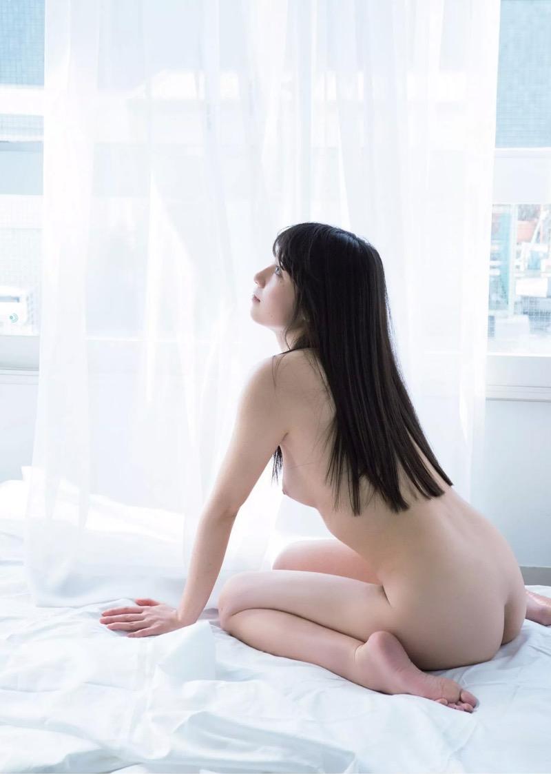 【百合沙エロ画像】木嶋ゆり時代に発表したヘアヌード写真集がエロいグラビア美女! 76