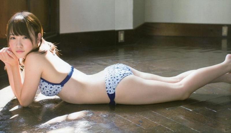 【川栄李奈グラビア画像】事件に巻き込まれてAKB48を卒業してしまった元アイドル