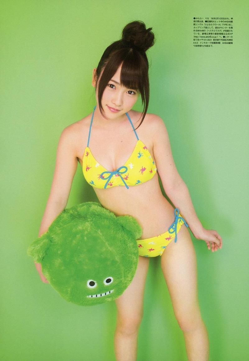【川栄李奈グラビア画像】事件に巻き込まれてAKB48を卒業してしまった元アイドル 21