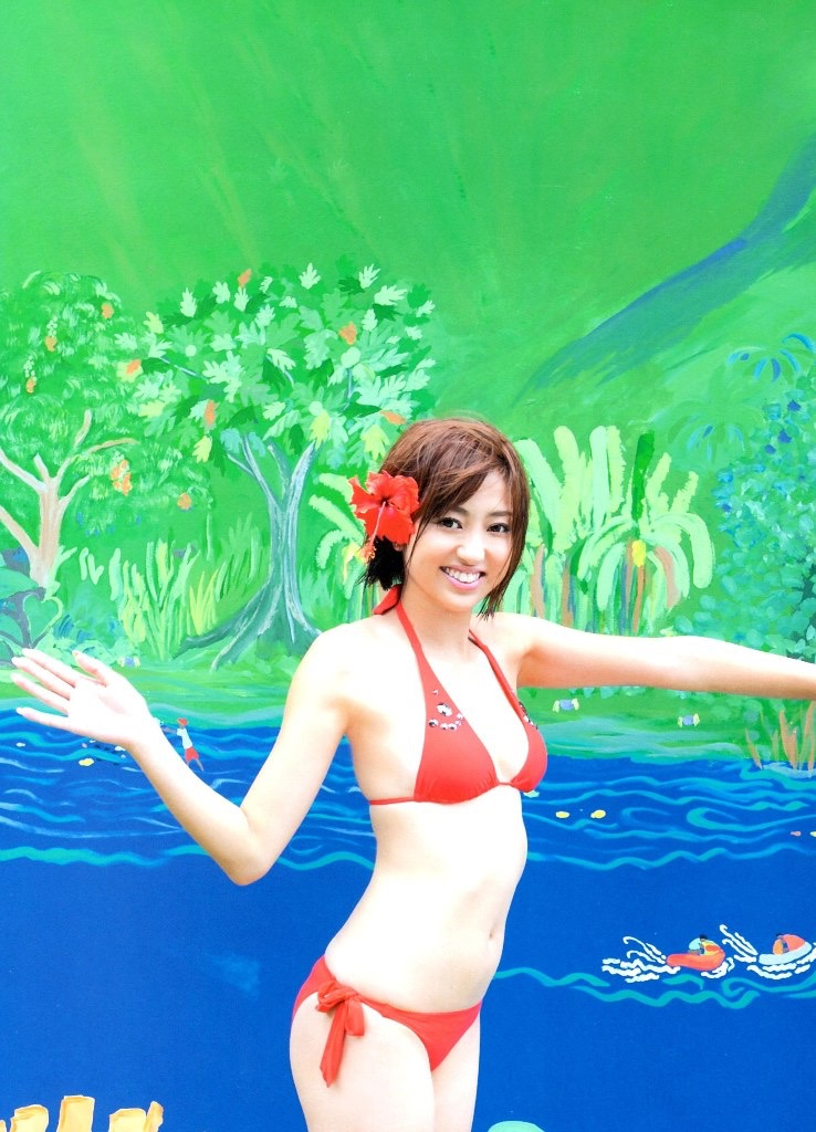 【菊地亜美グラビア画像】アイドリング!!!出身のバラエティタレントが魅せる水着グラビア 29