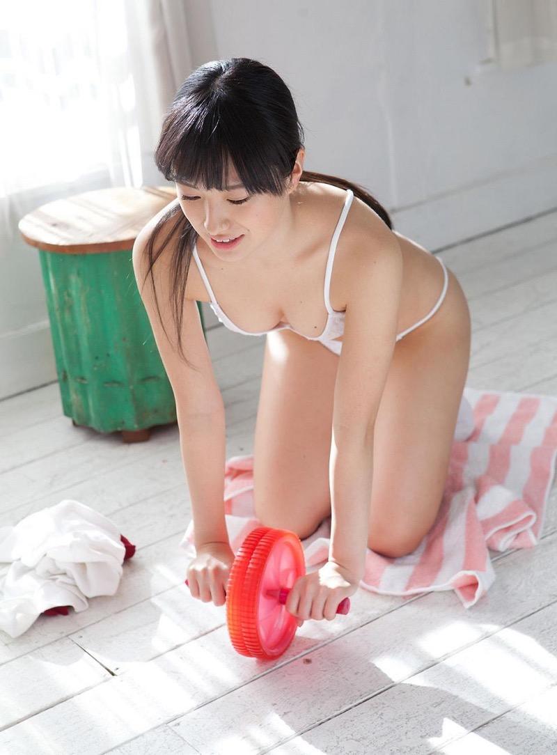 【大島珠奈グラビア画像】AV寸前のギリギリ着エロイメージを披露したグラビアアイドル 21