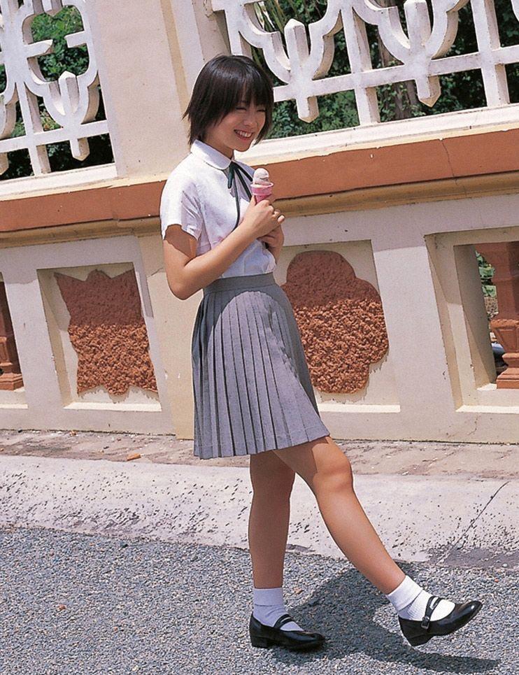 【北乃きいグラビア画像】笑顔が可愛い清純派美少女のちょっとエッチなグラビア! 113