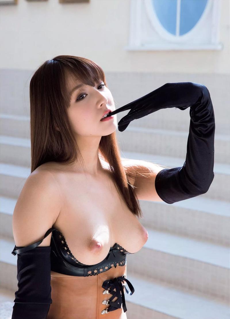 【三上悠亜エロ画像】元SKE48の鬼頭桃菜がAV女優になったら大ブレイクしちゃった! 20