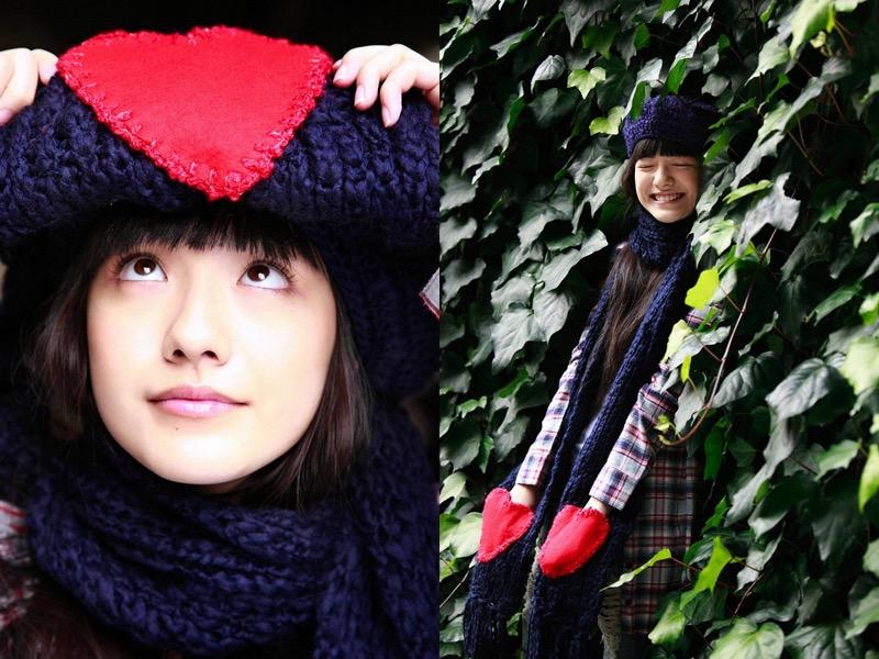 【小島藤子グラビア画像】NHKの朝ドラで話題になり映画主演も果たした女優の可愛い写真画像 08