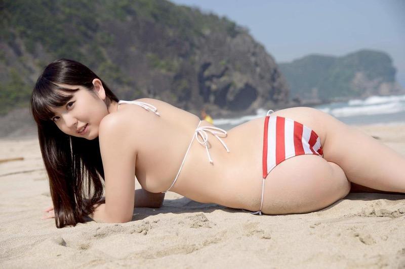 【椎名香奈江グラビア画像】柔らかそうなむっちり巨乳ボディがソソるグラビアアイドル 13