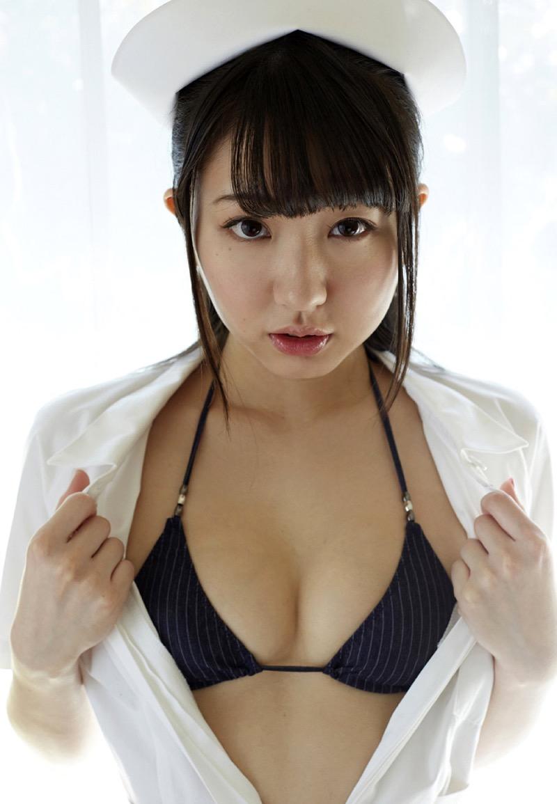 【椎名香奈江グラビア画像】柔らかそうなむっちり巨乳ボディがソソるグラビアアイドル 53
