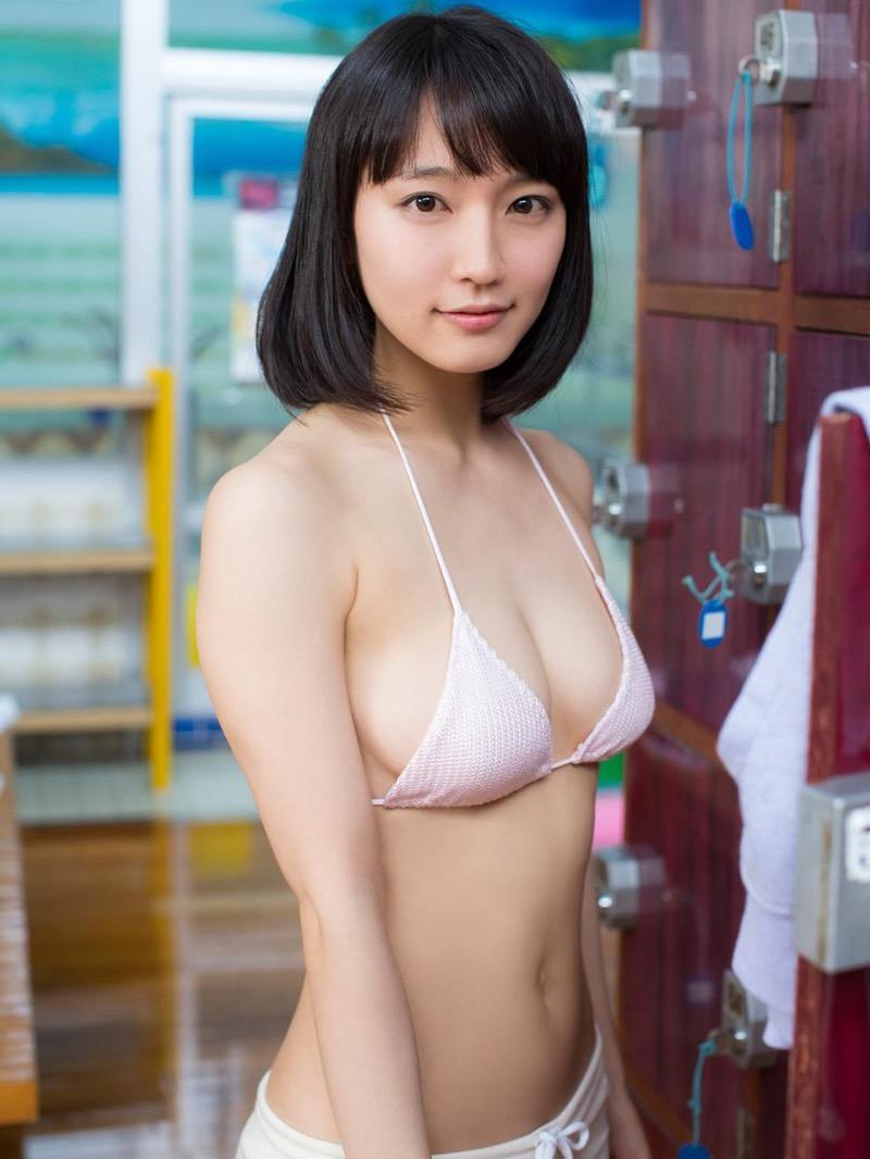 【吉岡里帆グラビア画像】どんぎつねでの可愛さに注目された美人女優のセクシー写真! 12