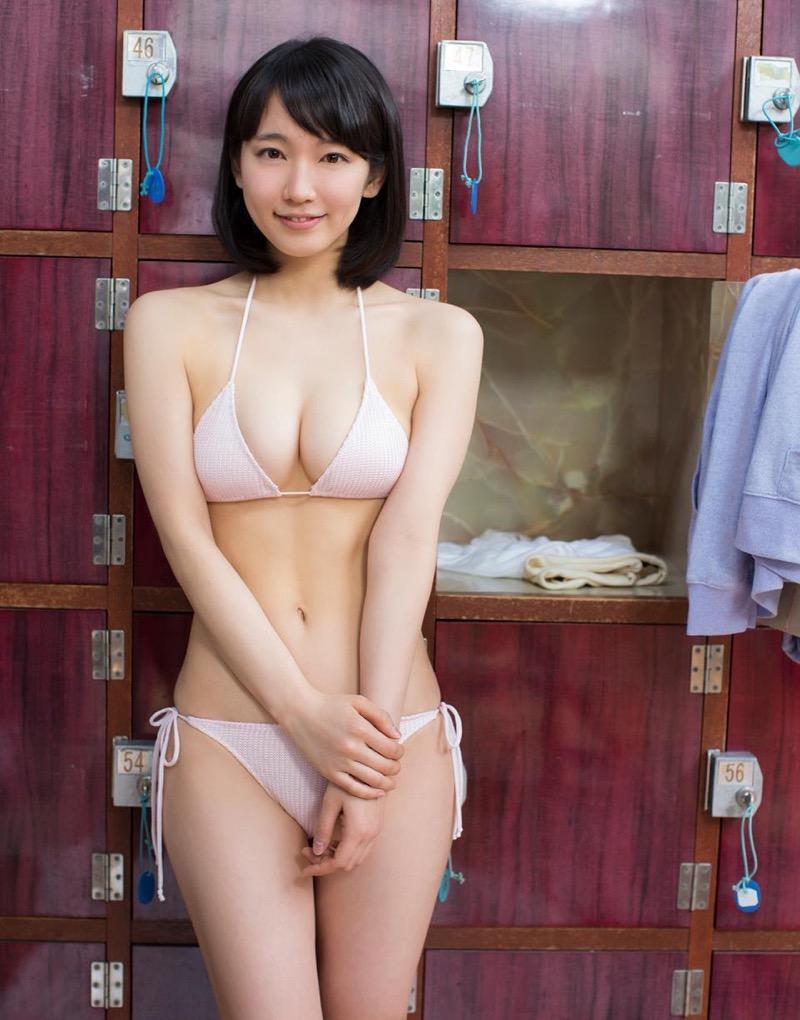 【吉岡里帆グラビア画像】どんぎつねでの可愛さに注目された美人女優のセクシー写真! 13