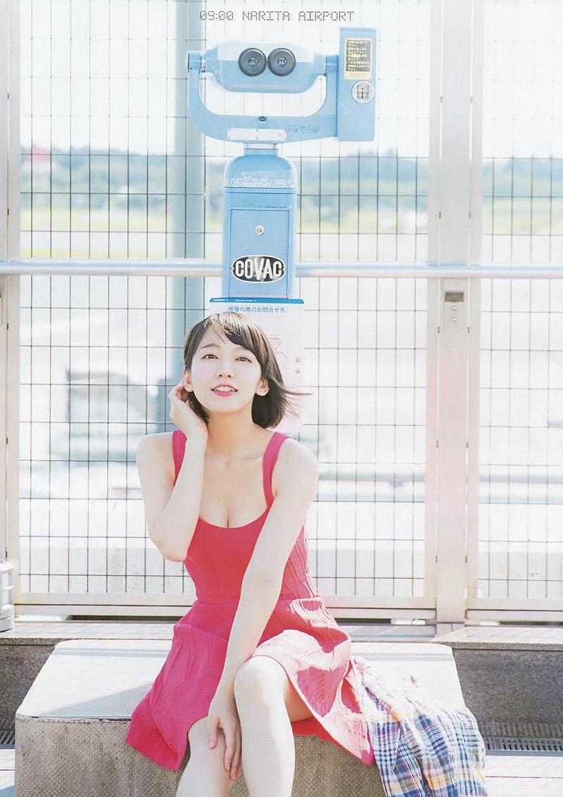 【吉岡里帆グラビア画像】どんぎつねでの可愛さに注目された美人女優のセクシー写真! 76