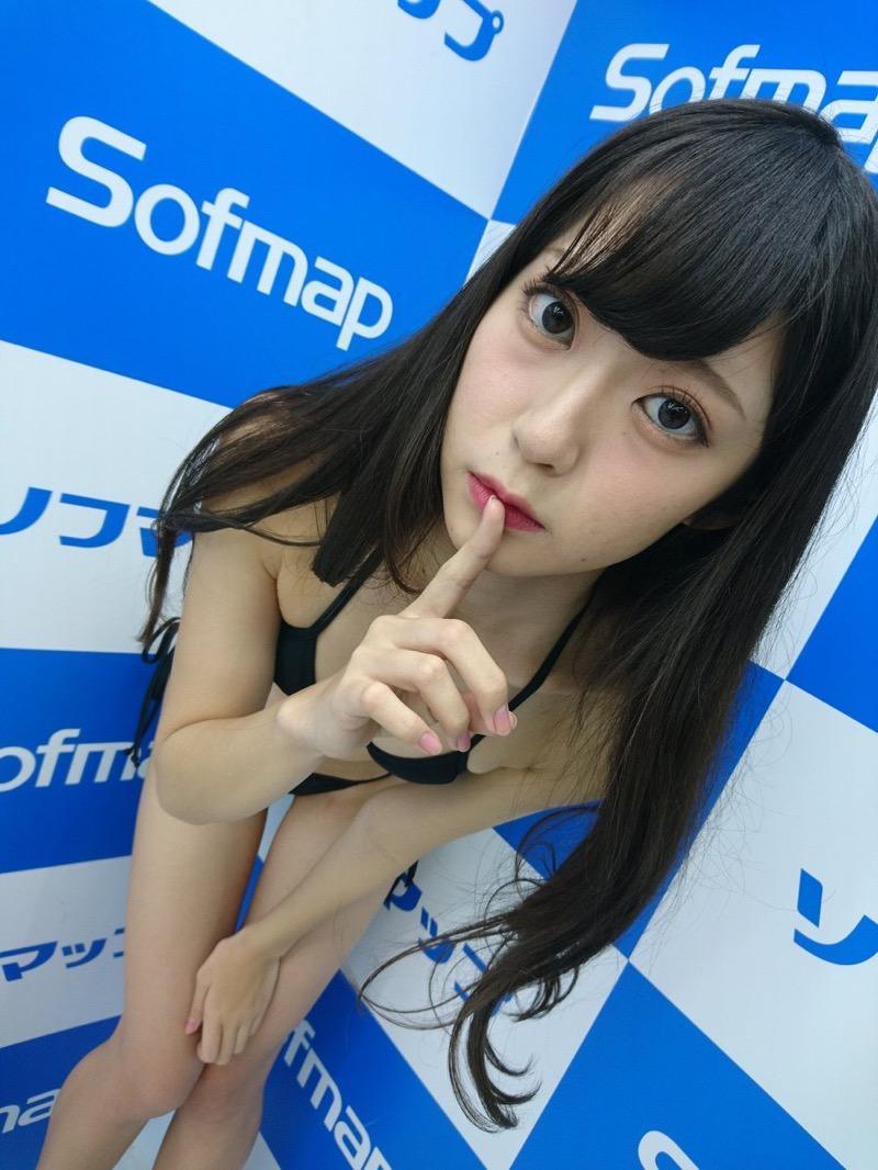 【田中めいエロ画像】9頭身スレンダー微乳ボディと大きな瞳が魅力的なグラビアイドル 32