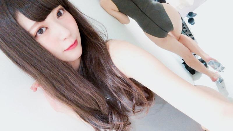 【田中めいエロ画像】9頭身スレンダー微乳ボディと大きな瞳が魅力的なグラビアイドル 48
