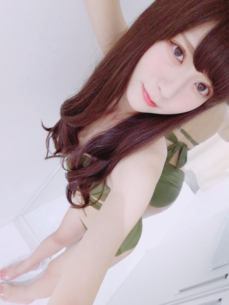 【田中めいエロ画像】9頭身スレンダー微乳ボディと大きな瞳が魅力的なグラビアイドル 54