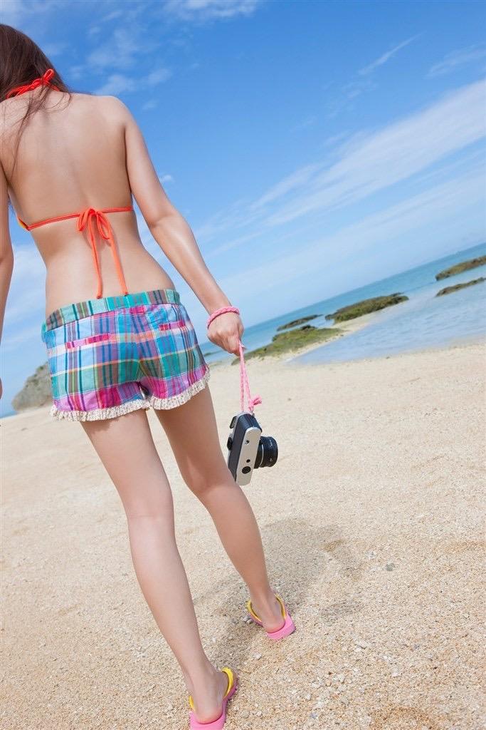【虎南有香グラビア画像】中学生時代からファッションモデルの健康的なビキニ写真集! 39