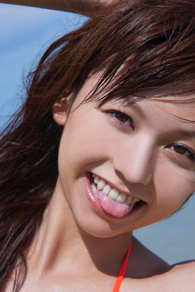 【虎南有香グラビア画像】中学生時代からファッションモデルの健康的なビキニ写真集! 57