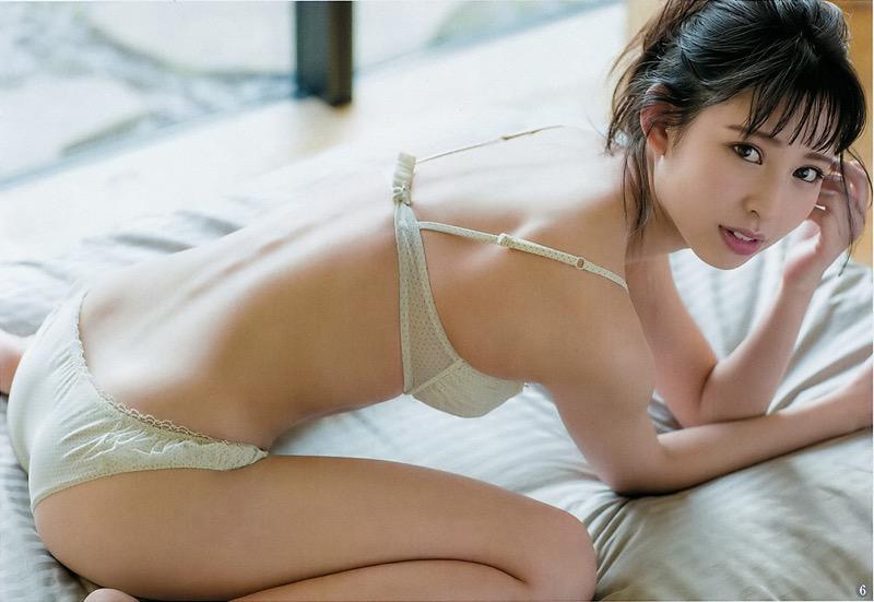 【沖口優奈グラビア画像】八重歯が特徴的で可愛らしい美少女アイドルのエロ写真! 60