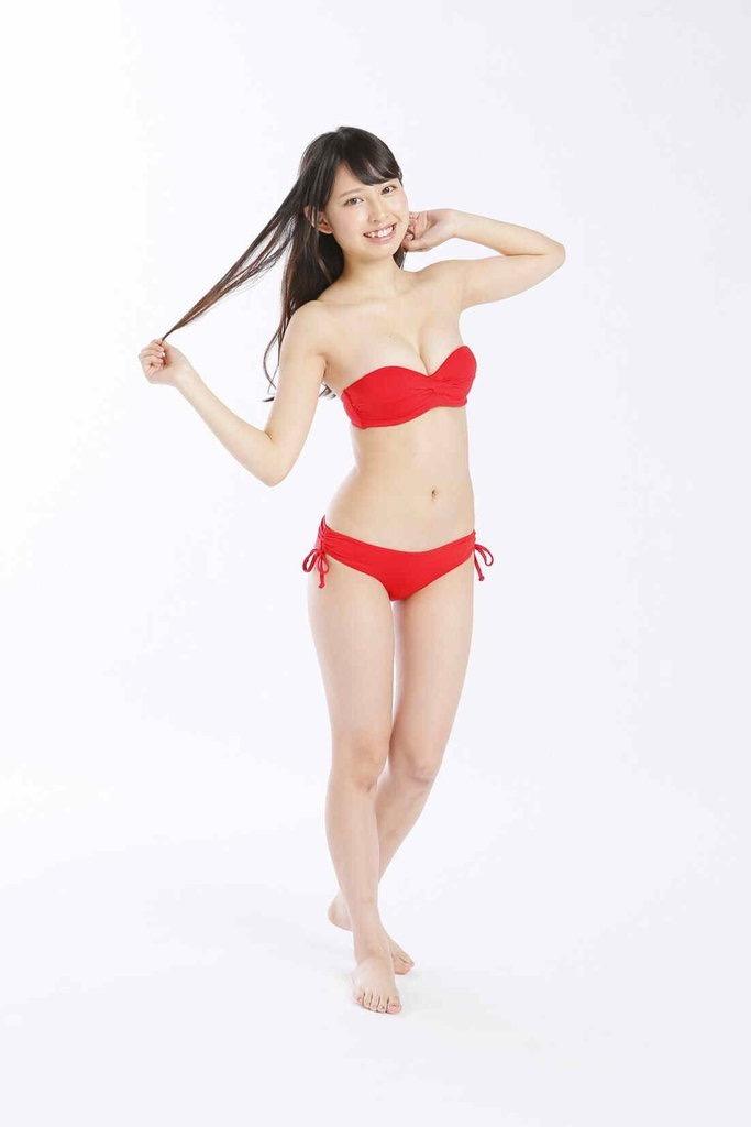 【沖口優奈グラビア画像】八重歯が特徴的で可愛らしい美少女アイドルのエロ写真! 66