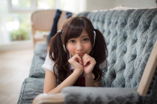 【ツインテールの日】ツインテールがとっても良く似合って可愛い美少女グラビア画像 10