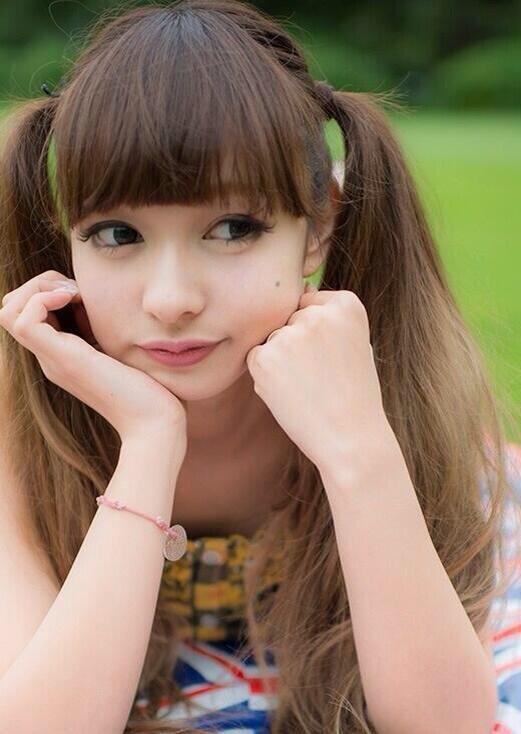 【ツインテールの日】ツインテールがとっても良く似合って可愛い美少女グラビア画像 19