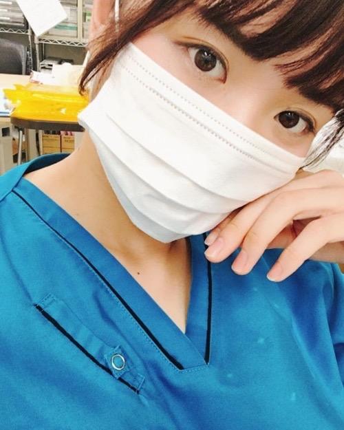 【現役ナース画像】現役で看護師グラビアアイドルの柳川あい&稲垣彩夏のエロ画像 45
