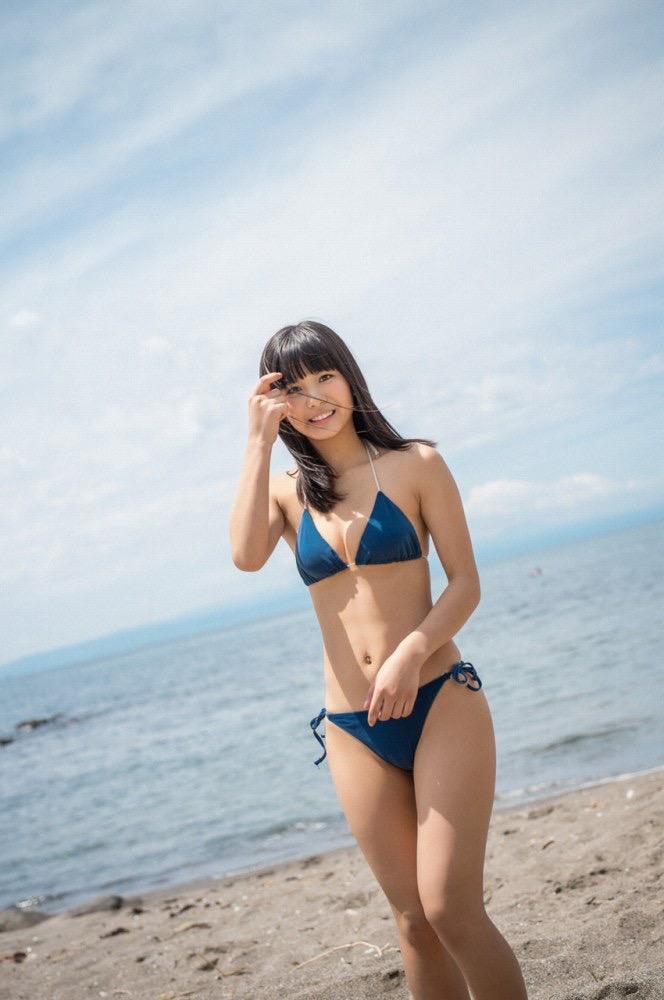 【咲良七海グラビア画像】フレッシュな清純系美少女の可愛くてちょっとエッチな水着写真 31