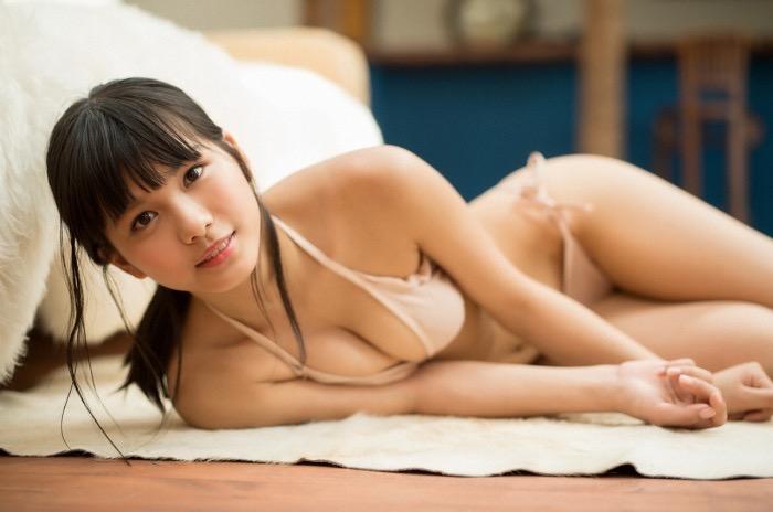【咲良七海グラビア画像】フレッシュな清純系美少女の可愛くてちょっとエッチな水着写真 43