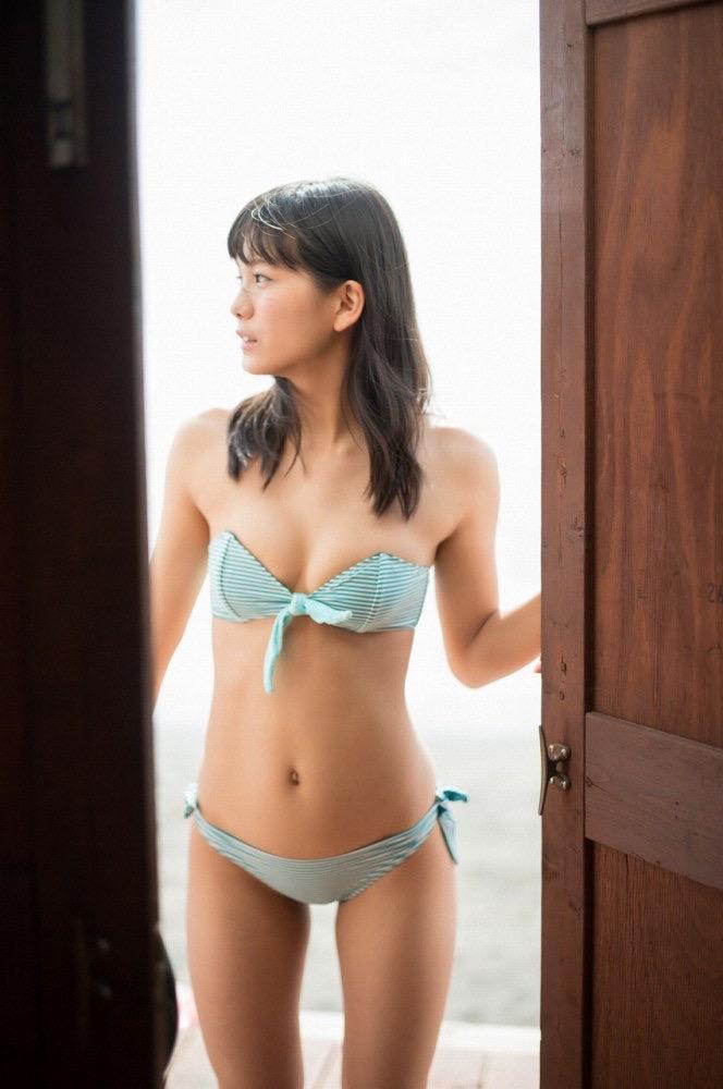 【咲良七海グラビア画像】フレッシュな清純系美少女の可愛くてちょっとエッチな水着写真 57
