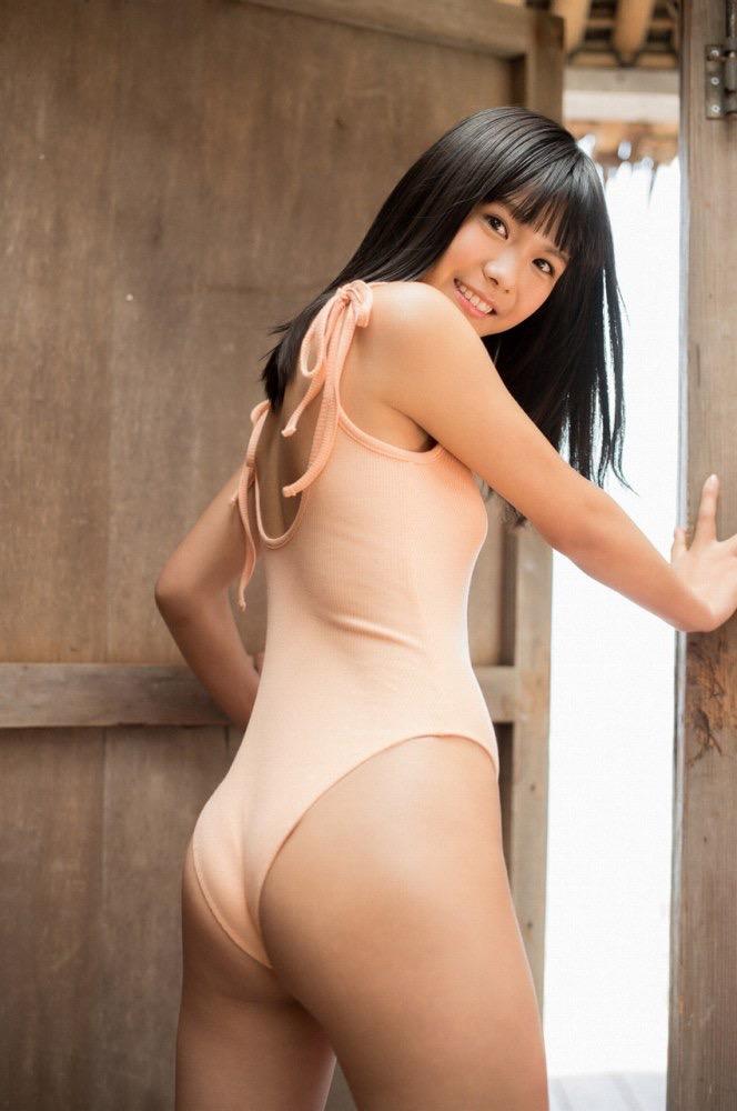 【咲良七海グラビア画像】フレッシュな清純系美少女の可愛くてちょっとエッチな水着写真 74