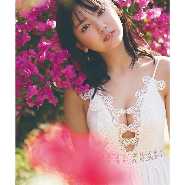 【沢口愛華エロ画像】可愛い顔してFカップ巨乳のエロくて可愛い美少女アイドル 59