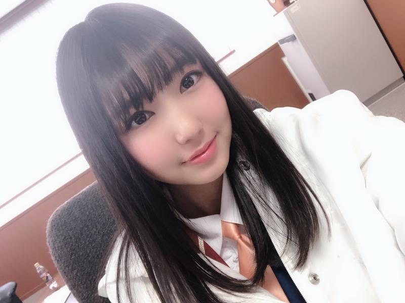 【沢口愛華エロ画像】可愛い顔してFカップ巨乳のエロくて可愛い美少女アイドル 79