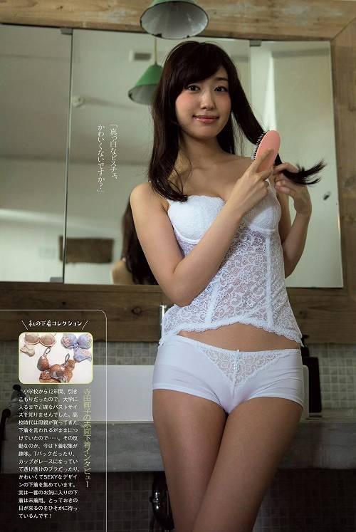 【グラドル下着エロ画像】グラビアアイドル美女達のセクシーなランジェリー姿に大興奮! 10