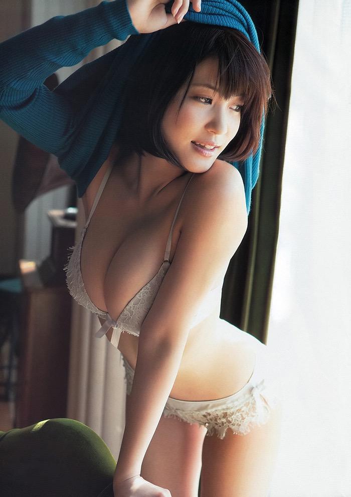 【グラドル下着エロ画像】グラビアアイドル美女達のセクシーなランジェリー姿に大興奮! 36